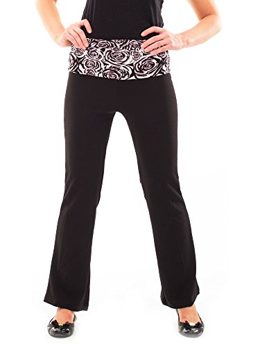 Avanti Gear (Avanti Bottega Women's Flare bottom Yoga Pant M)