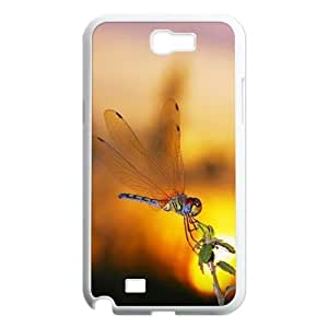 Dragonfly Unique Design Cover Case for Samsung Galaxy Note 2 N7100,custom case cover ygtg629840