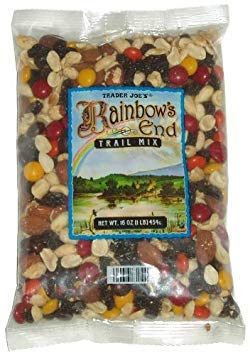 Trader Joe's Rainbow's End Trail Mix - Chocolate, Peanuts, Raisins, and Almonds (1 Pack, 16 oz.) ()