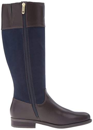 Tommy Hilfiger Women's Sunny Equestrian Boot Marine/Chocolate p25Nh