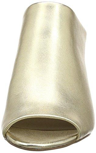 Steve Madden 91000245-0S0, Zuecos de Tacón Mujer Dorado (Gold)