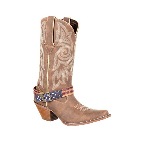 Crush By Durango, Accessorio Bandiera Delle Donne Western Boot-drd0208