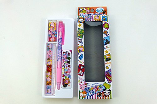 Nohohon Park Cute Mechanical Pencil Stationery Set - Pink