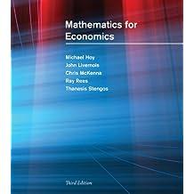 Mathematics for Economics (The MIT Press)