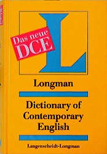 Longman Dictionary of Contemporary English (DCE)