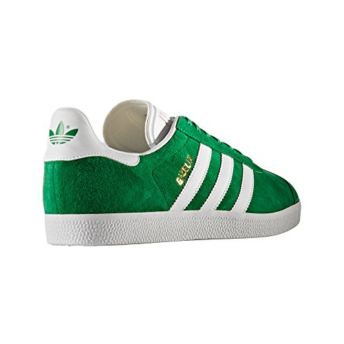 Adidas Gazelle Herren Sneaker. Schuhe Low-top Groen / Wit / Goud Metallic