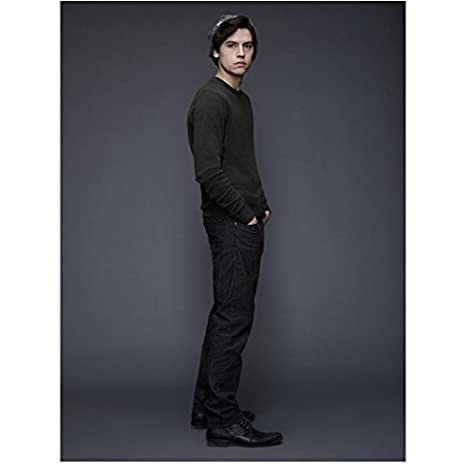 riverdale cole sprouse as jughead jones standing to side 8 x 10 inch