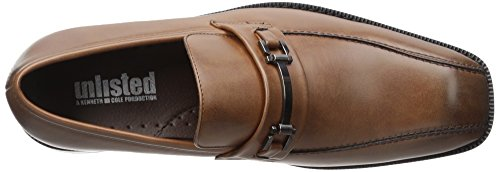 Kenneth Cole Mens Mocassino Slip-on Slip-on Cognac