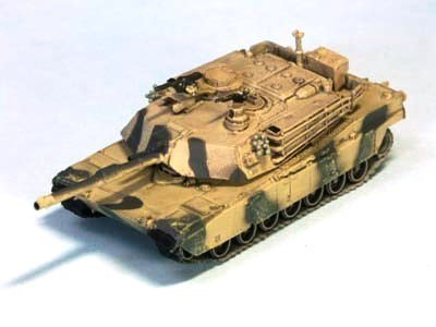 1 144 Mondiale Tank Museum Series 06-100 M1A2 Abrams Aggressor elemento singolo