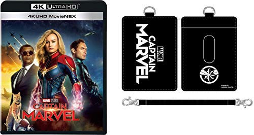 (2019年7月3日 발매예정 - 예약주문) 【Amazon.co.jp 한정】 캡틴 마블 4K UHD MovieNEX (원래 경로 케이스 포함) [4K ULTRA HD + 3D + 블루 레이 + 디지털 복사 + MovieNEX 월드] [Blu-ray]