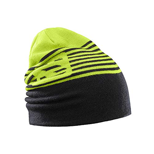 Salomon Flatspin Reversible Beanie, Acid Lime, One Size