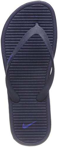 Nike Solarsoft Thong II (488160-090) Azul (Midnight Navy/racer Blue 444)