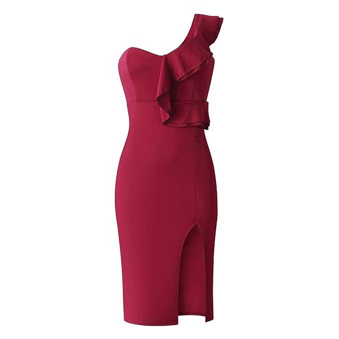 Beaums Verano Atractivo sólido de Color Solid Color Espalda ...