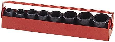 "Genius Tools 8pc 3//8/"" Dr Metric Impact Socket Set TF-002"