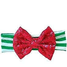 Merry & Bright Holiday Headband, Red