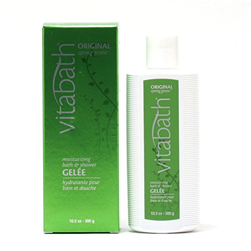 Green Original Gelee Moisturizing Spring (Vitabath Original Spring Green Moisturizing Bath & Shower Gelee (10.5 Oz.))