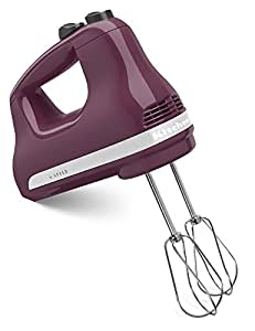 KitchenAid KHM512BY Hand Mixer, 1, Boysenberry