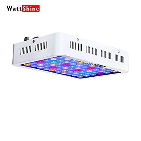 LED Aquarium Light 180W Dimmable Full Spectrum For Coral Reef Grow For Plants Fish Tank Aquarium Decorations Include White & - Marine Reef Tank