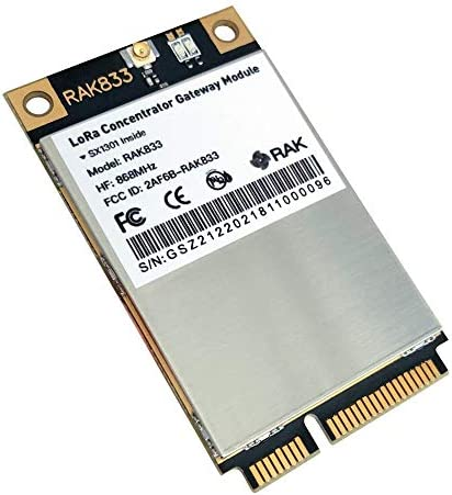 RAK833 SPI And USB Lora Gateway Concentrator mPCIe Module (Based on SX1301 And FT2232H) (AU 915MHz)