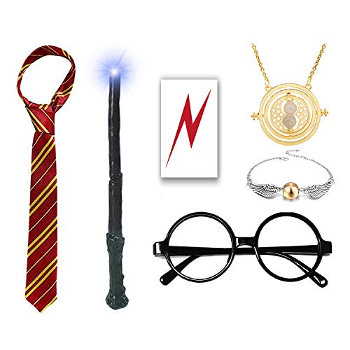 Novelty Glasses Lightning Necklace Accessories product image