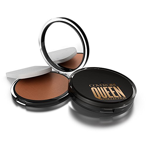 COVERGIRL Queen Lasting Matte Pressed Powder Foundation Medium, .37 oz (packaging may vary)