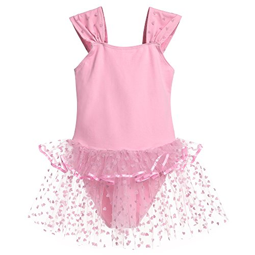 Zaclotre Girls Sleeveless Leotard Ballet Dance Costumes Tutu Dress