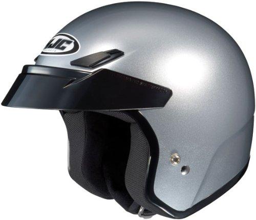 HJC CS-5 CS5 CRUISERN CR SILVER SIZE:XXL Motorcycle Open-Face-Helmet