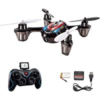 Potensic Mini RC Quadcopter with 720P Camera,4 CH 6 Axis Gyro 2.4 GHz (Red) FJ0132