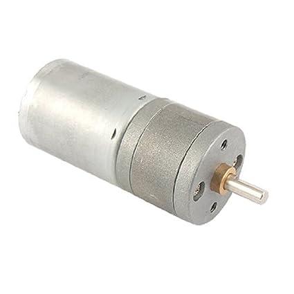 DealMux 25 milímetros DC12V 40-50mA 60 rpm Torque DC Motor da engrenagem