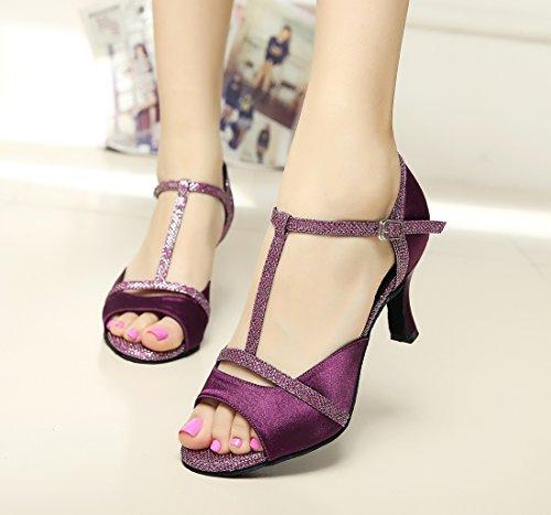 Violet violet femme Salle bal Minitoo de xWqFPzWI