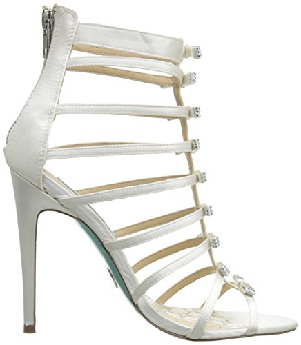 Betsey Johnson Tie Tessile Sandalo Gladiatore