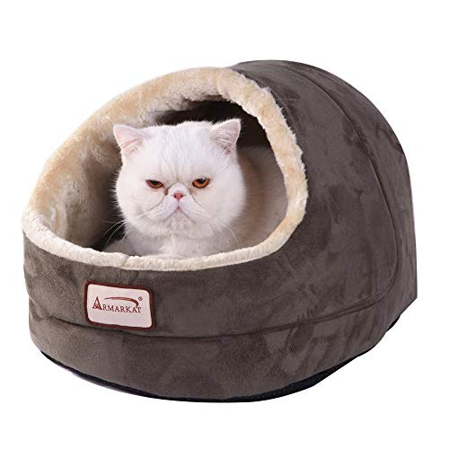- Armarkat Laurel Green Cat Bed Size, 18-Inch by 14-Inch
