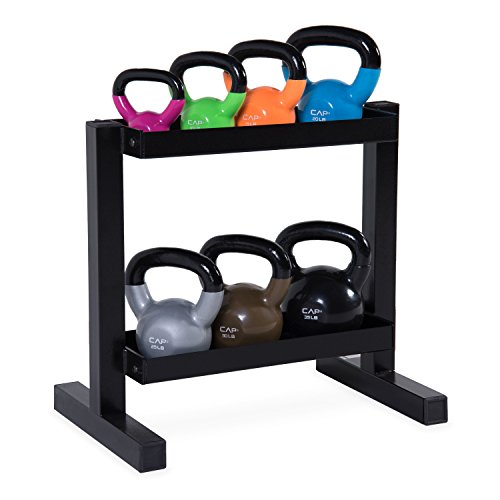 CAP Barbell Kettlebell Set Rack
