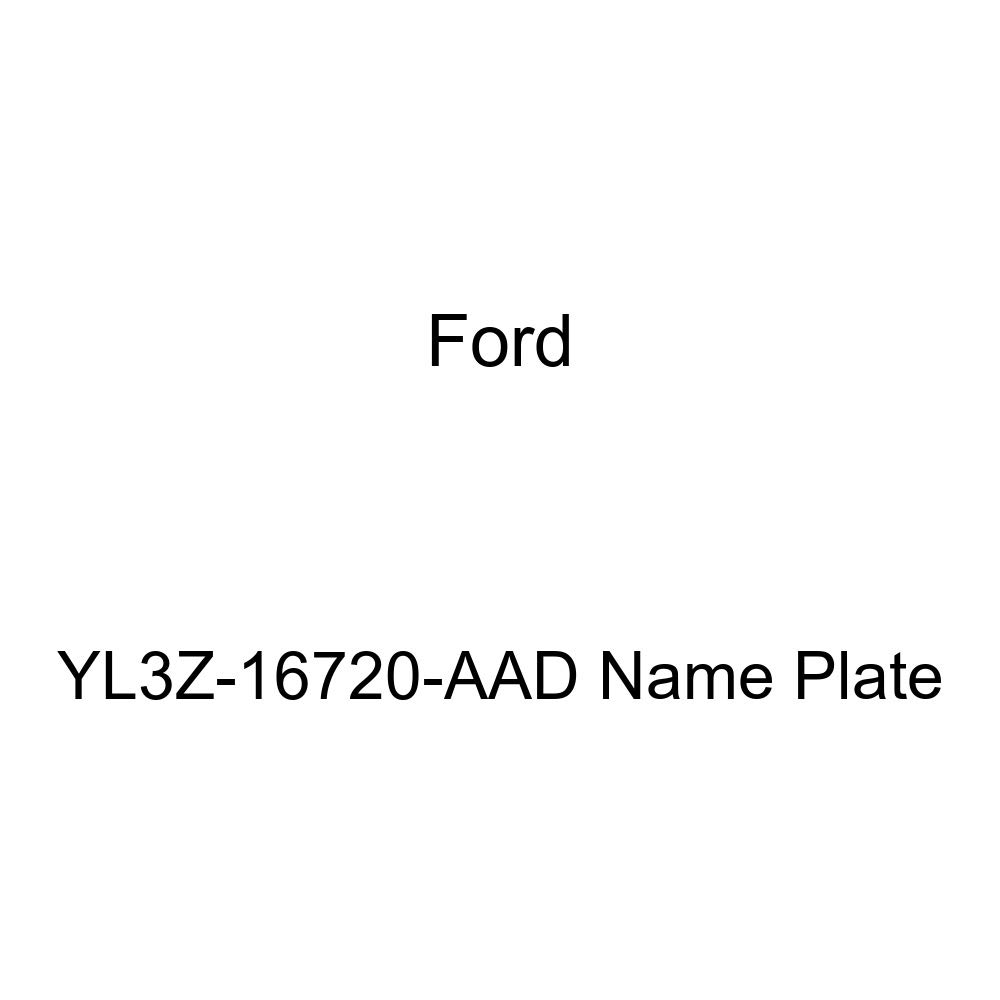 Genuine Ford YL3Z-16720-AAD Name Plate