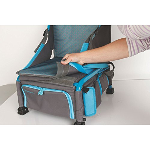 7a615de06d96 Amazon.com : Coleman Treklite Plus Coolerpack Chair, Blue : Sports &  Outdoors