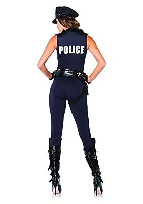 Leg Avenue Women's 4 Piece Backup Officer