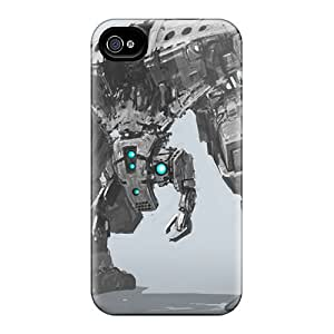 Durable Defender Case For Iphone 4/4s Tpu Cover(mech 3)