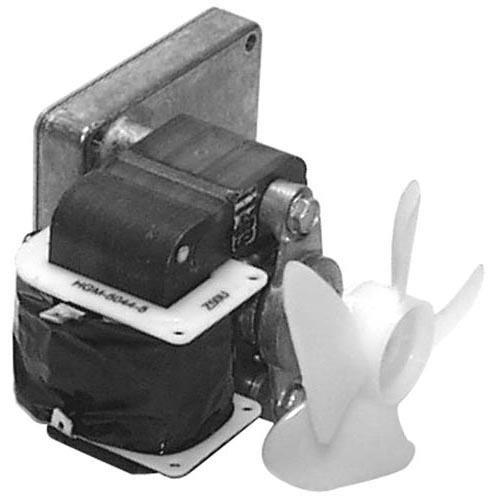 Star Mfg Ps-G8101 Drive Motor Agitator 120V 60Hz 45Rpm W/Fan Blade For Star Popcorn Machine 681199