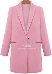 Amazon.com: Pink - Wool &amp Blends / Wool &amp Pea Coats: Clothing
