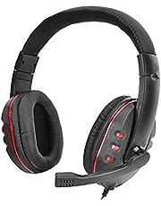DBSUFV Trådlösa Bluetooth-hörlurar med mikrofon, huvudbonader lyxhörlurar för inline-headset lyxspelheadset med brusreducering
