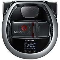 Samsung POWERbot R7070 Wi-Fi Connected Pet Robot Vacuum with Edge Clean and Self Clean Brush (Satin Titanium)