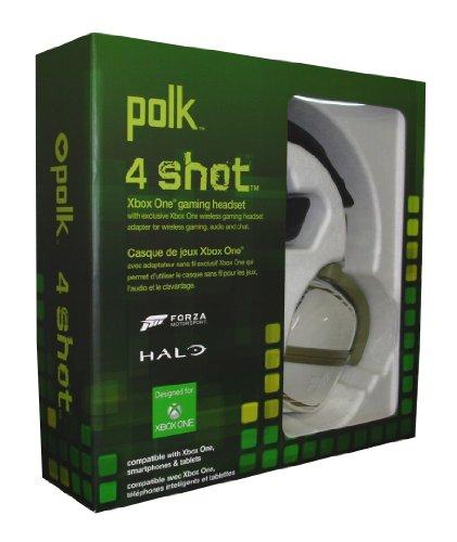 Polk Audio 4Shot Headphone for Xbox One (Green)