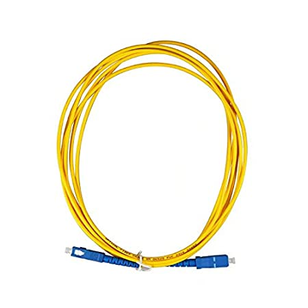 LINSUNG con Adattatore di prolunga Cavo di prolunga in Fibra Ottica SC-SC 5 M