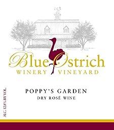 NV Blue Ostrich Poppy\'s Garden Blush 750 mL