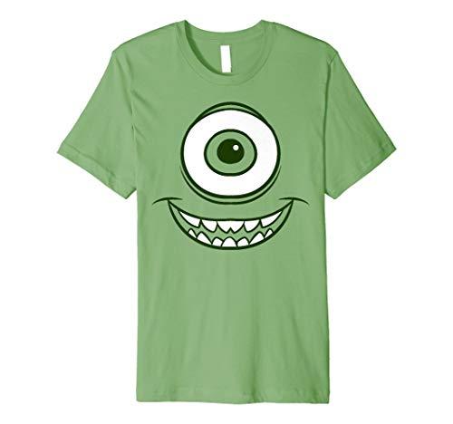 Mens Disney Pixar Monsters Inc. Mike Wazowski Eye Premium T-Shirt Medium Grass