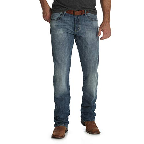 Wrangler Men's Retro Slim Fit Straight Leg Jean, Aberdeen, 35W x 36L