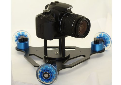 Professional Photography & Cinema Triangle Dolly System Travel Size for Video DSLR Camera Camcorder Canon Sony