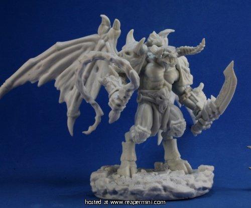 Fire Demon Balor by Reaper from Bones