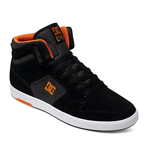 DC Mens Nyjah High SE Shoes Black/Orange fqecVaa