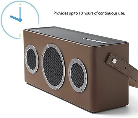 Apple Airplay CertifiedGGMM M4 Wireless Speaker for Music StreamingWiFi Bluetooth Indoor Outdoor